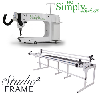 Handi Quilter Simply Sixteen 16-Inch Long Arm Quilting