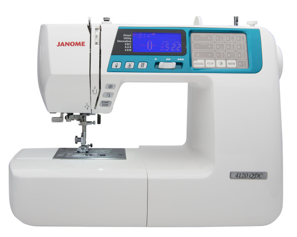 Janome 4120QDC-B Computerized Sewing and Quilting Machine