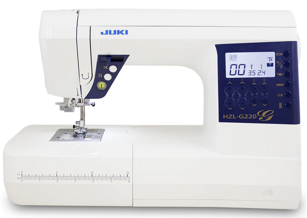 Juki HZL-G220 Computerized Sewing + Quilting Machine