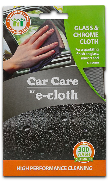E-Cloth Car Glass & Chrome Cloth