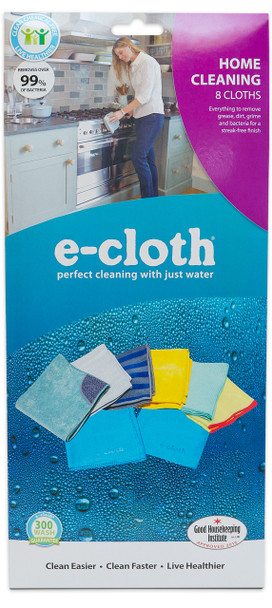 E-Cloth Home Cleaning 8-PC Set