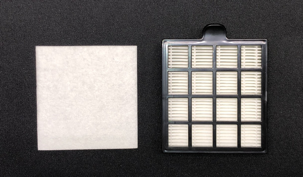 HEPA Filter Set for The Bank Mint Canister Vacuum Cleaner