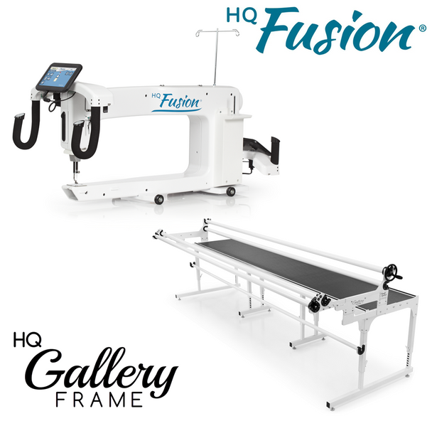 Handi Quilter Fusion 24-Inch Long Arm Quilting Machine + 12-Foot Gallery Frame w/Precision-Glide Wheels Package
