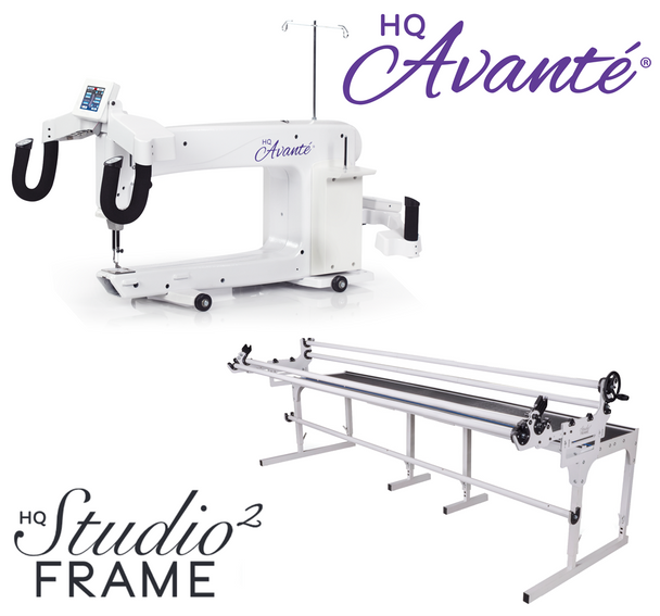 Handi Quilter Avante 18-Inch Long Arm Quilting Machine + 10-Foot Studio2 Frame w/Precision-Glide Wheels Package