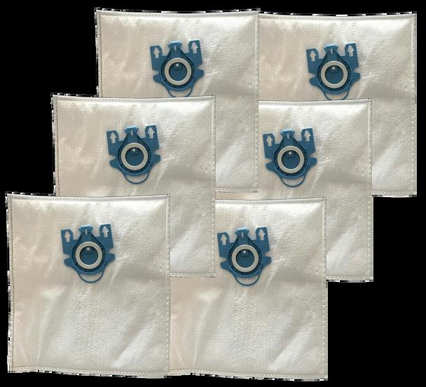 Premium HEPA Vacuum Cleaner Bags Type GN for Miele (6-Pack)