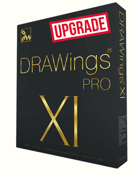 DRAWings PRO XI Upgrade for Any Previous Version of DRAWings PRO