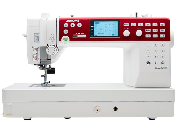 Janome Memory Craft 6650 Computerized Sewing + Quilting Machine