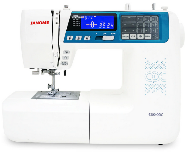 Janome 4300QDC-B Computerized Sewing and Quilting Machine