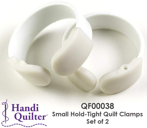Handi Quilter Small Hold-Tight Quilt Clamps - Set of 2 | QF00038