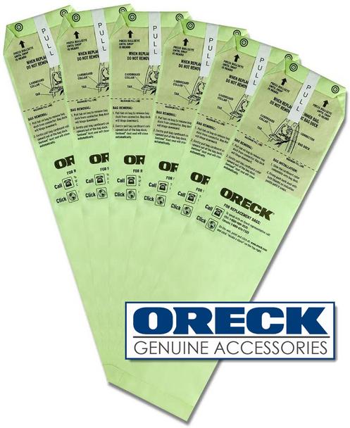 Oreck LWPK6DW Magnesium Vacuum Cleaner Bags 6-Pack   Type LW - 83065-01
