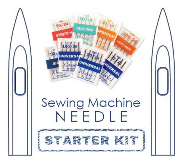 Sewing Machine Needle Assortment Starter Kit