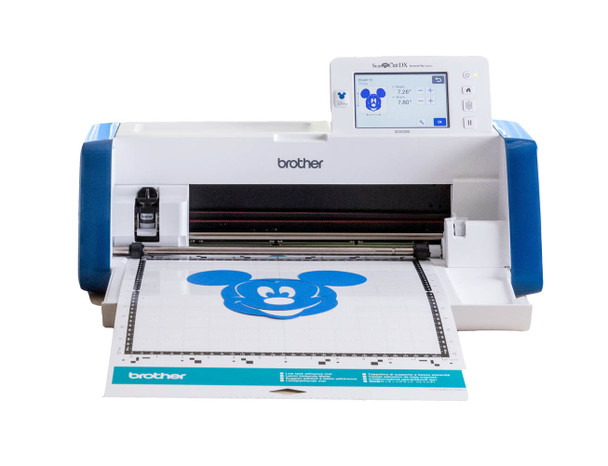 Brother Innov-ís SDX230D Disney ScanNCut DX Electronic Cutting Machine w/ Bonus Roll Feeder Attachment