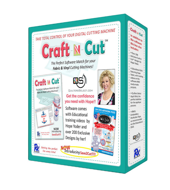 Floriani Quilters Select Craft-N-Cut Electronic Cutting Machine Software