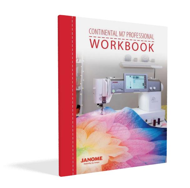 Janome Continental M7 Sewing Machine Workbook