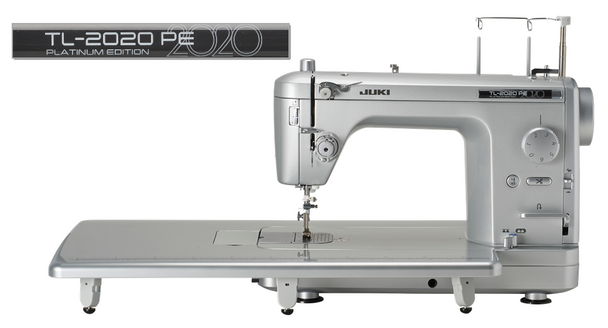 Juki TL-2020 PE Platinum Limited Collectors Edition High-Speed Sewing + Quilting Machine