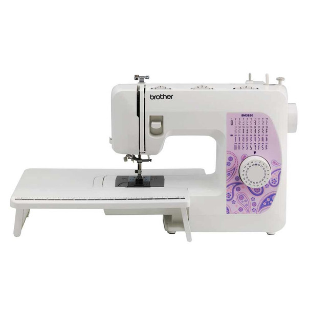 Brother BM3850 Sewing Machine w/Extra-Wide Extension Table