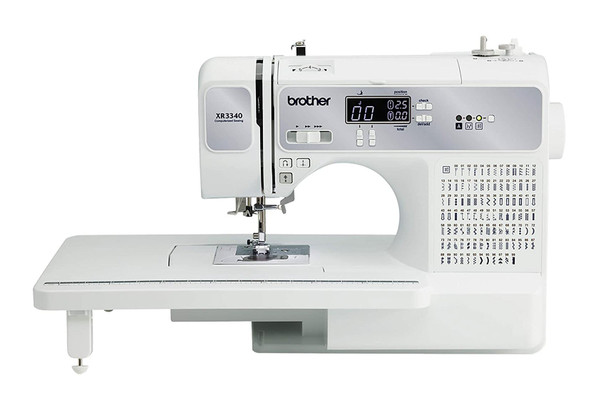 Brother XR3340 Computerized Sewing Machine w/Extra-Wide Extension Table (R)