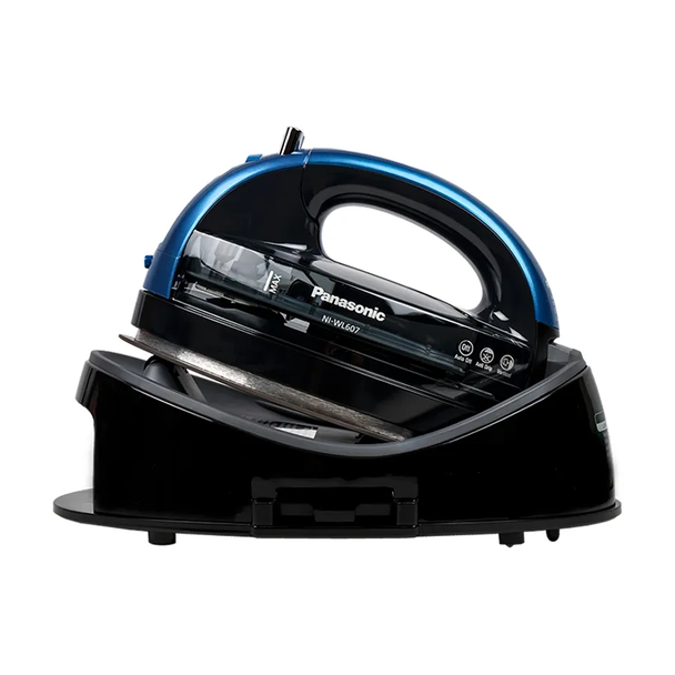 Panasonic NI-WL607A 360º Advanced Ceramic Sole Plate Steam Iron (Blue)