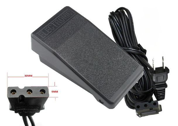 Foot Control w/ Power Cord 40230054 for Juki and Baby Lock Sewing Machines + Sergers