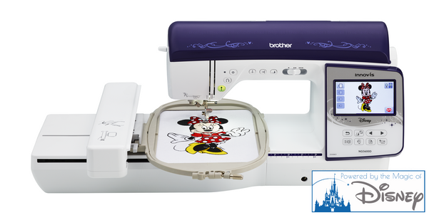 Brother Innov-ís NQ3600D Computerized Sewing + Embroidery Machine | Powered by the Magic of Disney