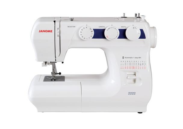 Janome 2222 Sewing Machine w/ Auto 1-Step Buttonhole