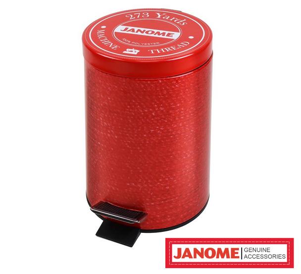 Janome Limited Edition Metal Trash Bin