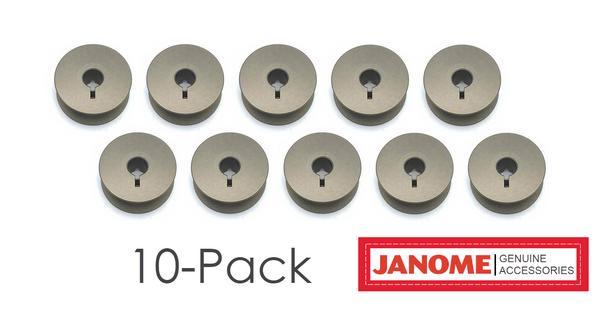 Janome HD9 v1 Jumbo Bobbins 10-Pack | 770591001