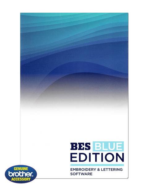 Brother BES BLUE Edition Embroidery and Lettering Software