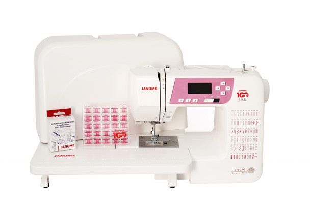 Janome 3160PG Computerized Sewing Machine | 100 Year Anniversary Limited Edition