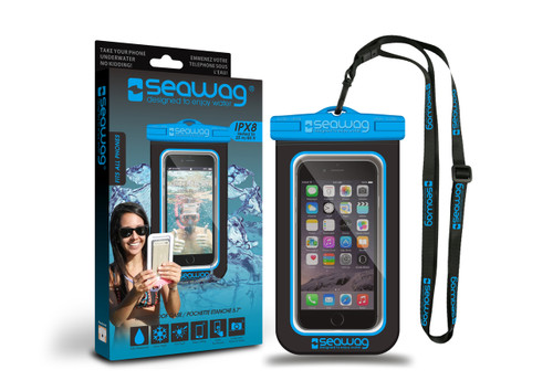 Seawag Waterproof Case For Smartphone Black/Blue
