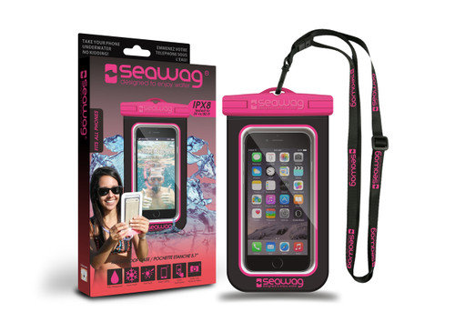 Seawag Waterproof Case For Smartphone Black/Pink