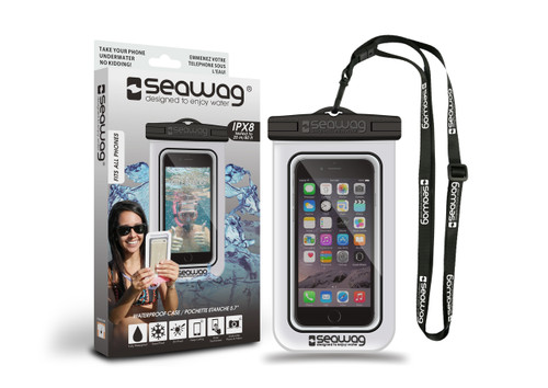 Seawag Waterproof Case For Smartphone White/Black