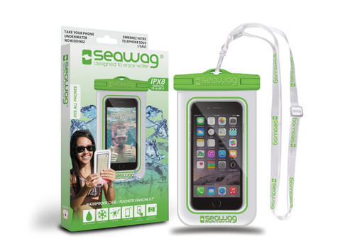 Seawag Waterproof Case For Smartphone White/Green