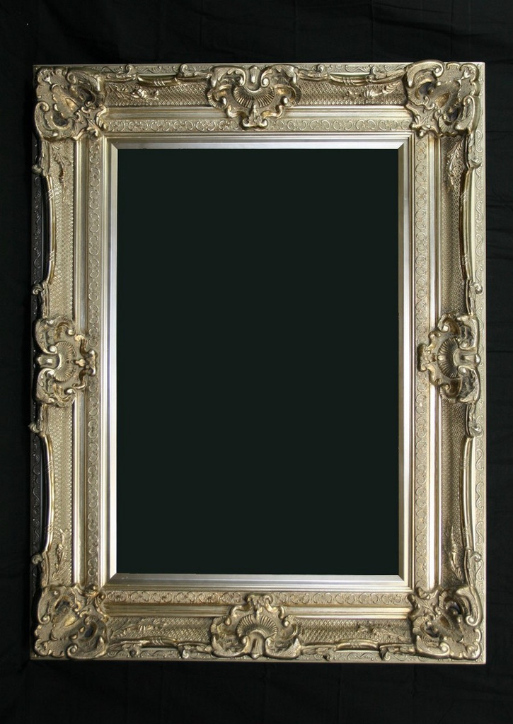 Print Décor - Grand Ornate Silver Frame