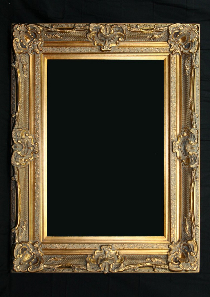 Print Décor - Grand Ornate Gold Frame