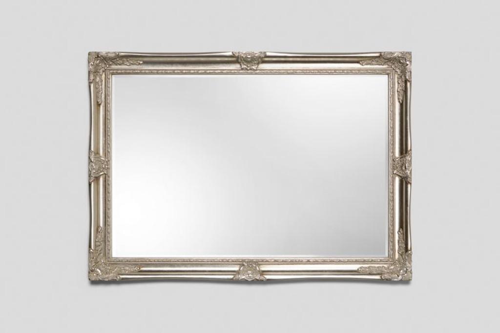 Alexandra - Traditional Silver Mirror