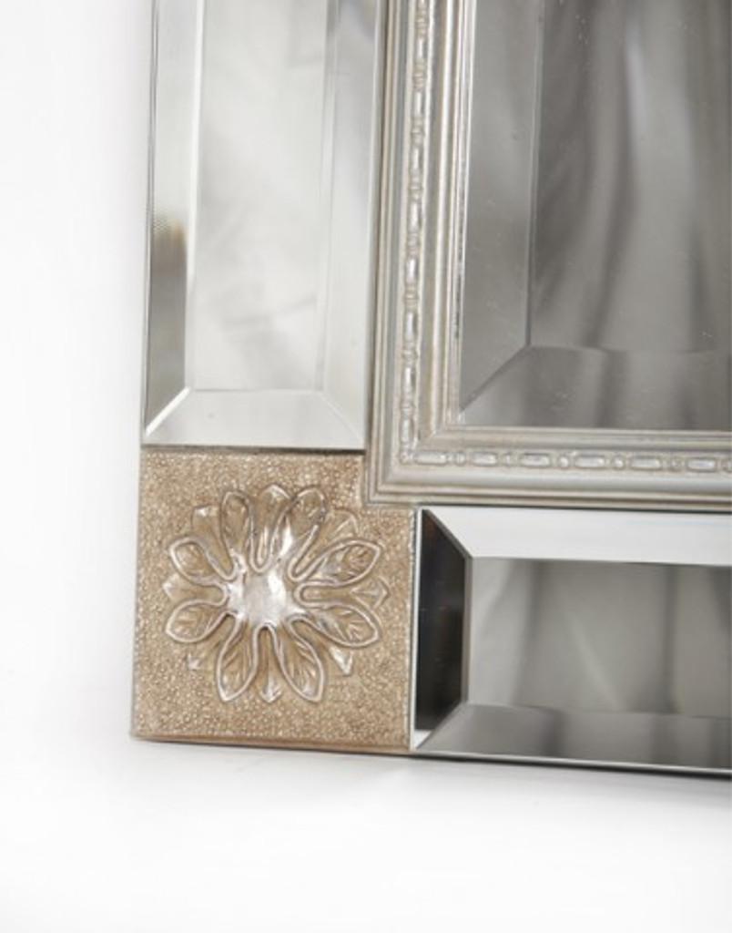 Vienna Mirror Silver