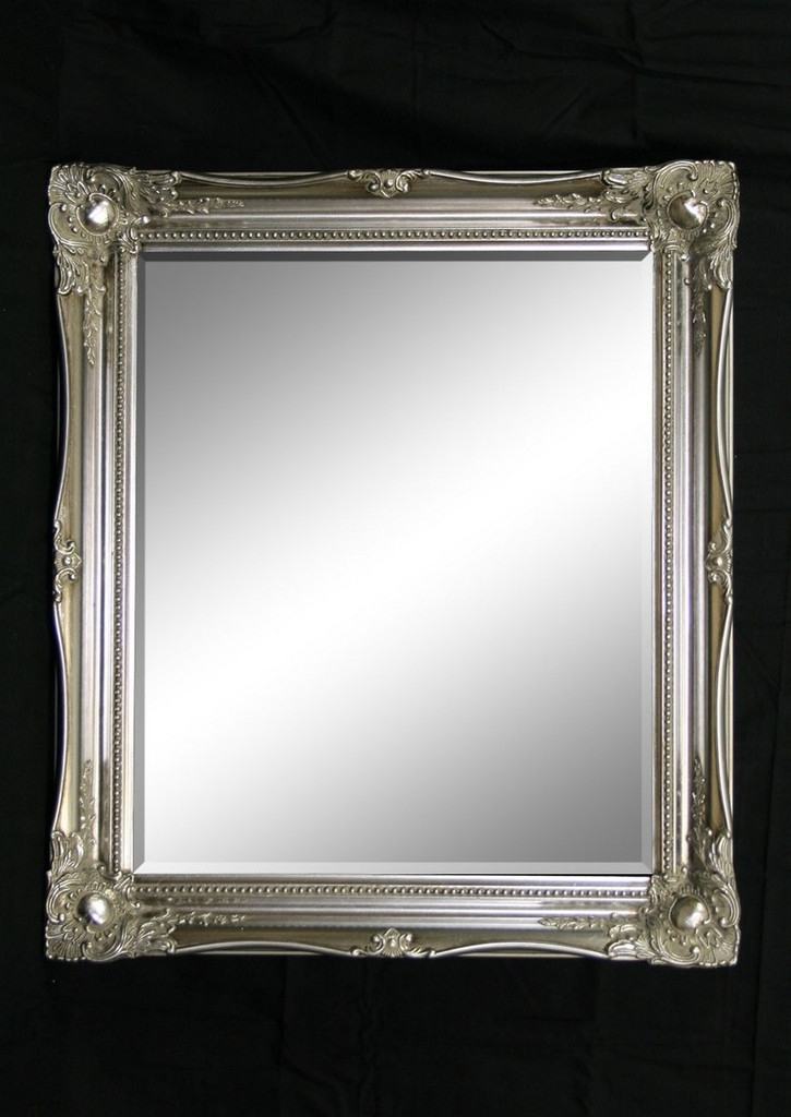 Print Décor - Contessa Silver Beveled Mirror