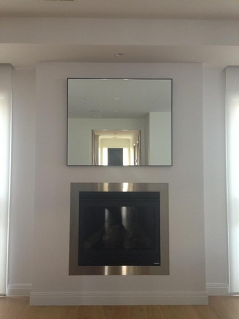 Slimline Mirror, In Situ