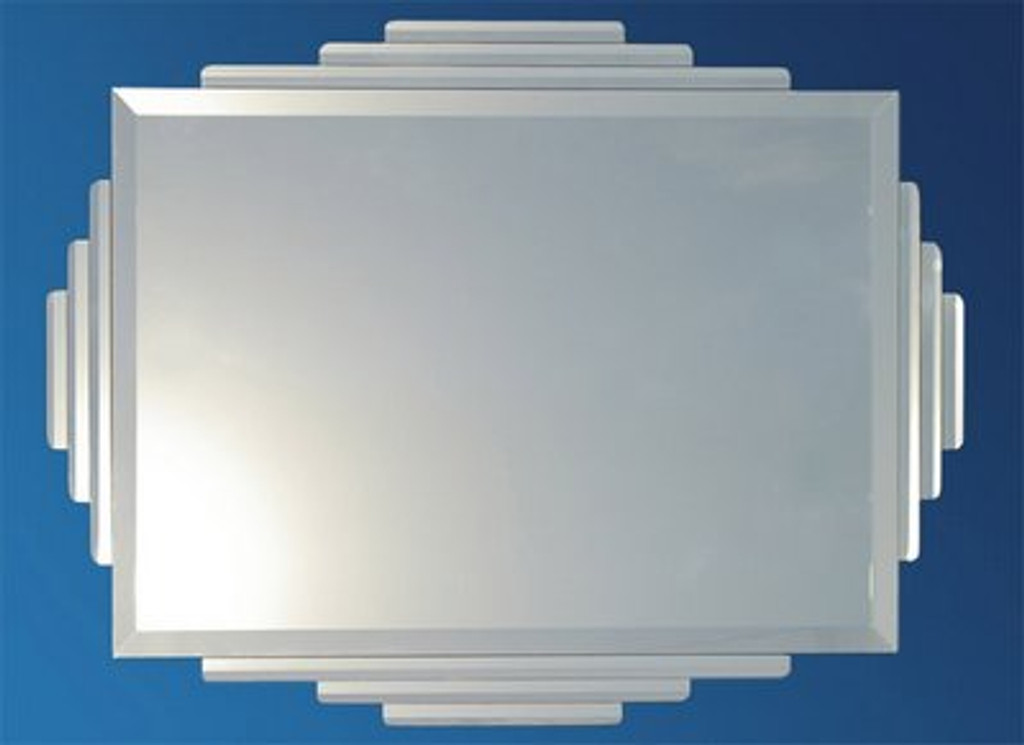 The Rialto Art Deco Mirror Print Decor Art Mirrors Frames