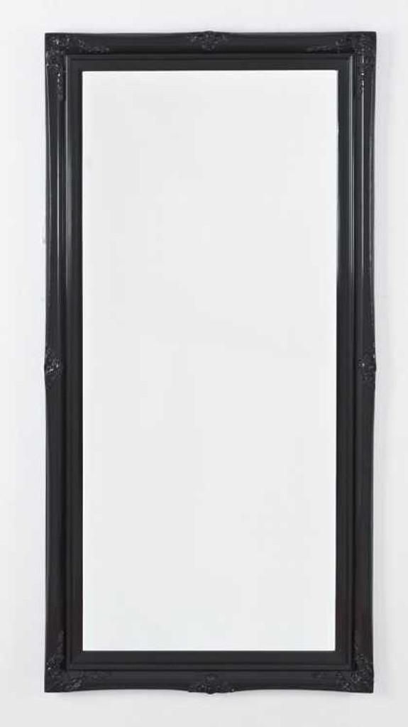 Print Decor Princess Black Gloss Mirror