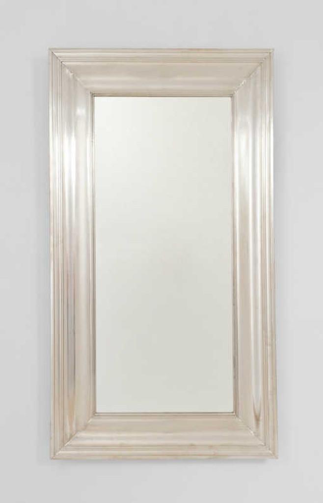 Print Decor | Metal White Mirror | Tall