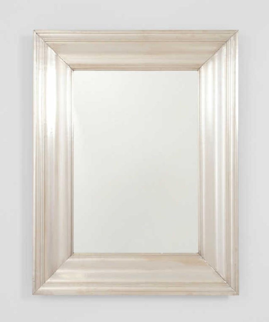 Print Decor | Metal White Mirror | Living Room