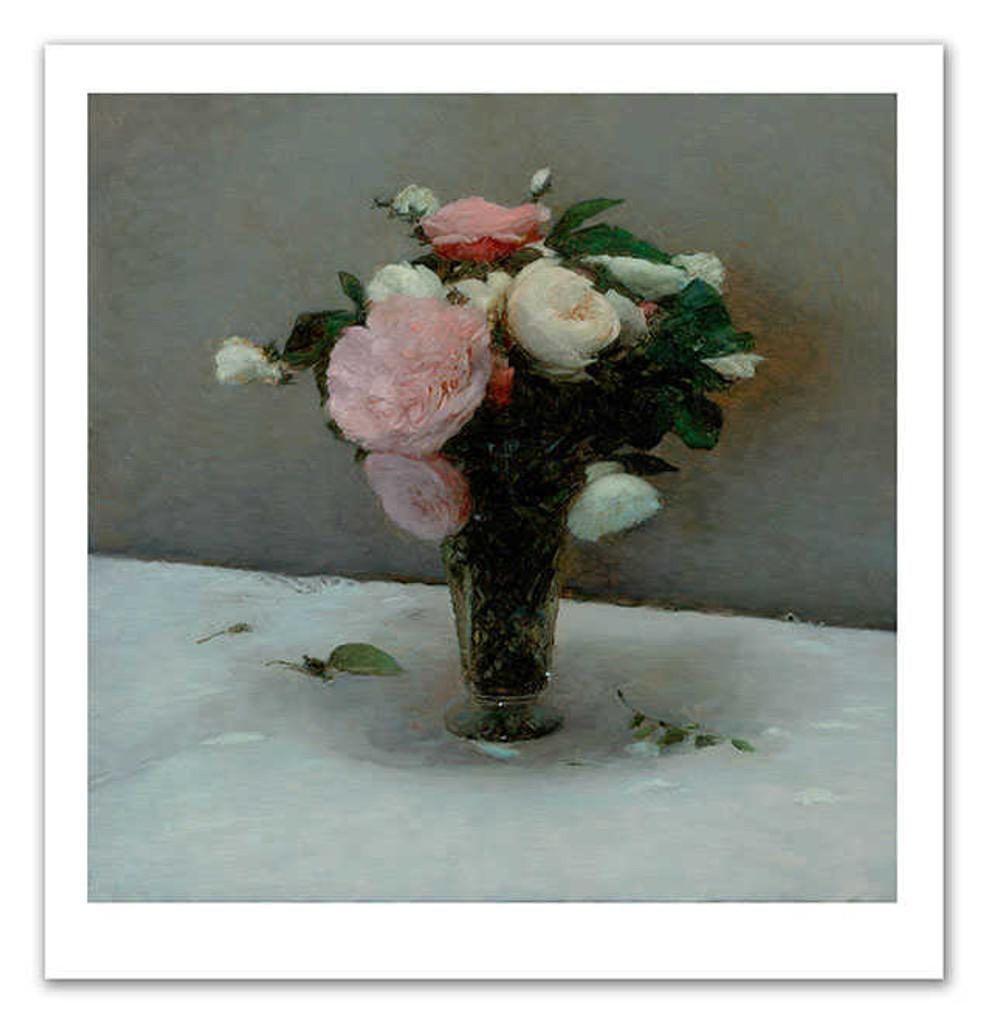 Print Decor   Old Roses    Paul Seaton   Artwork