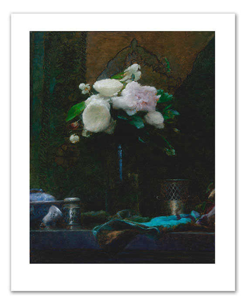 Print Decor | Blue and Silver 1  | Paul Seaton | Artwork