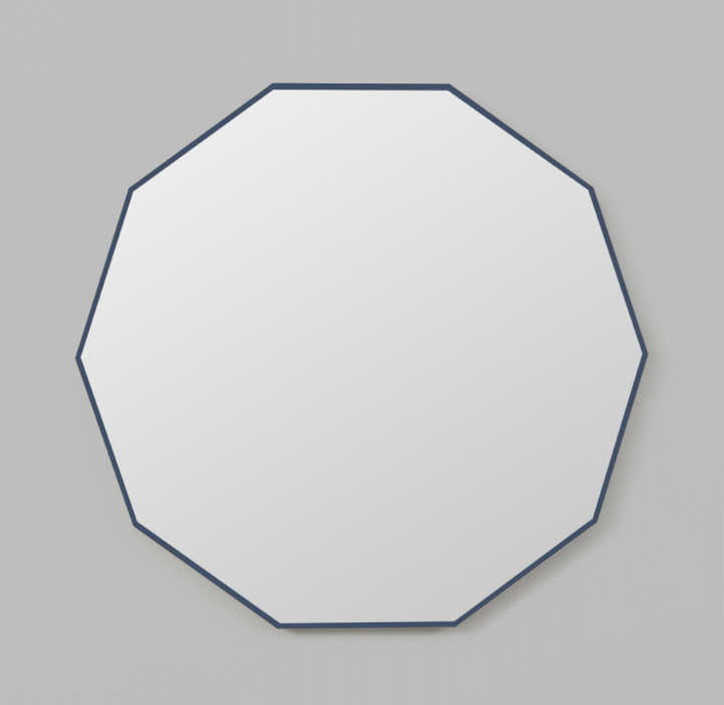 DECAGON NAVY | PRINT DECOR