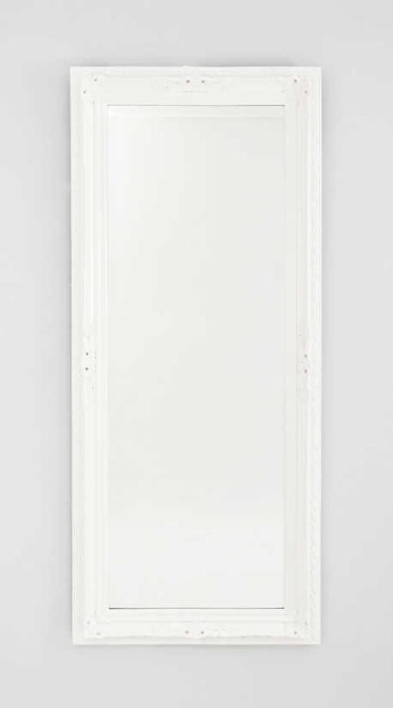 MODERN MIRROR | HAMPTON WHITE WASH MIRROR | PRINT DECOR