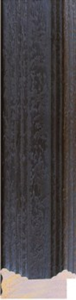 PRINT DECOR   VERMEER RUSTIC BLACK FRAME   DETAIL   7 cm FRAME