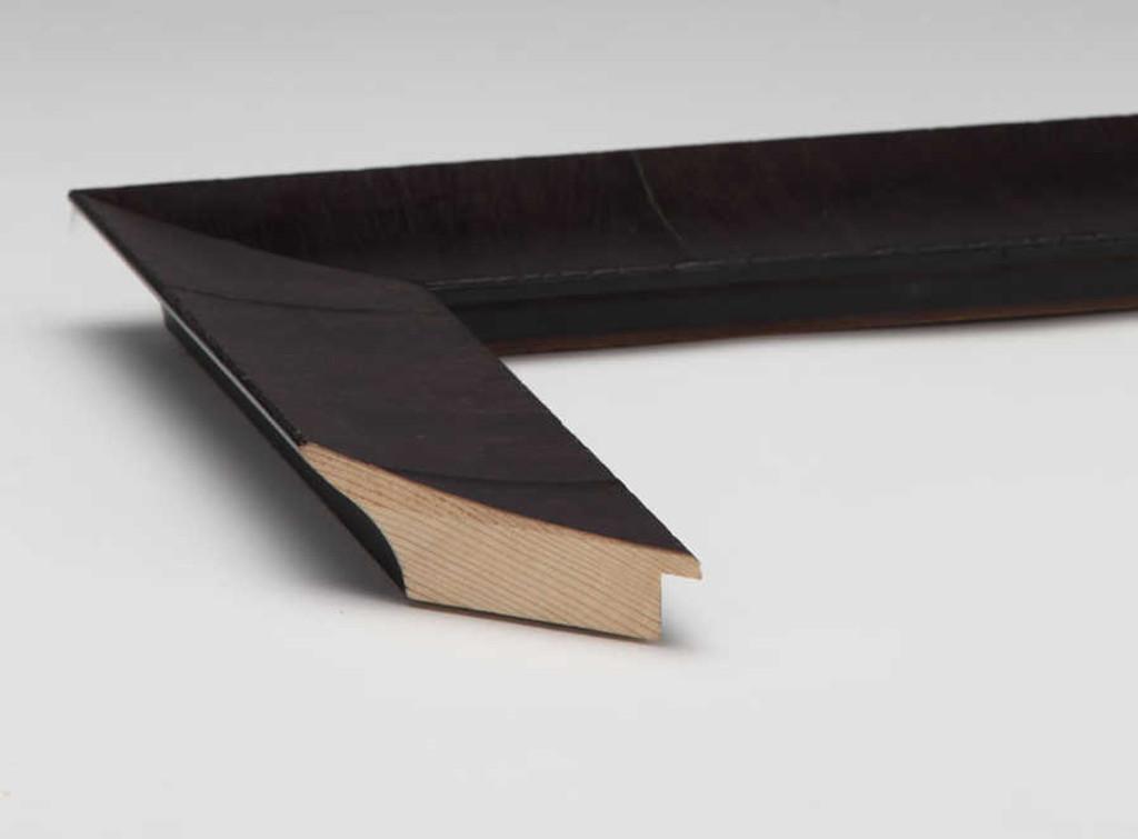 Olive Veneer Black | Print Decor | Side View