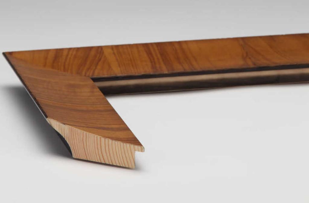Olive Veneer Natural Timber | Print Decor | Side View